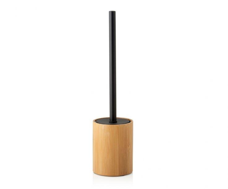 Escobilla de madera de bambú natural