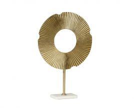 Figura de aluminio dorada Olympia